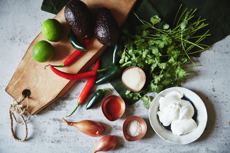 ingredientes salsa aguacate