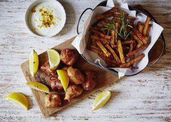 Receta Fish and chip