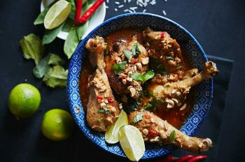 receta pollo al curry