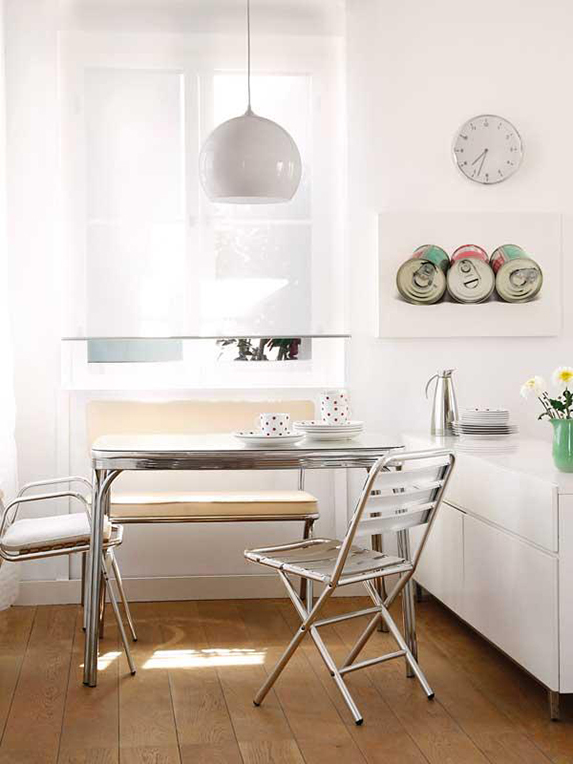 Claves para crear un office en la cocina con estilo blog for Decorar office cocina